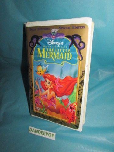 Disney-Masterpiece-The-Little-Mermaid-VHS-1998-Special-Edition #Disney #WaltDisney #TheLittleMermaid #VHS #Move #dandeepop Find me at dandeepop.com