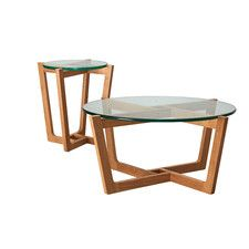 Monerey Natural Coffee and Side Table