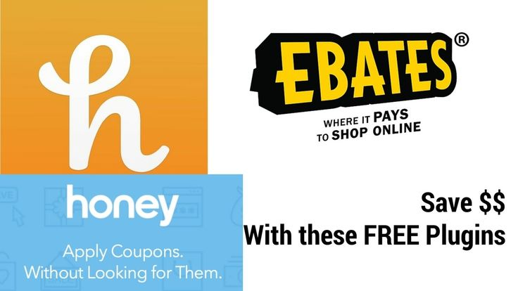 How to Install Ebates, Honey Plugin Extension to SAVE