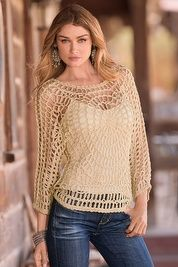 Easy crochet sweater