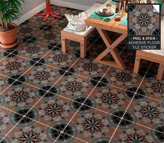 Cyprus Tiles, Floor Tile Stickers, Floor Tile Decals ...