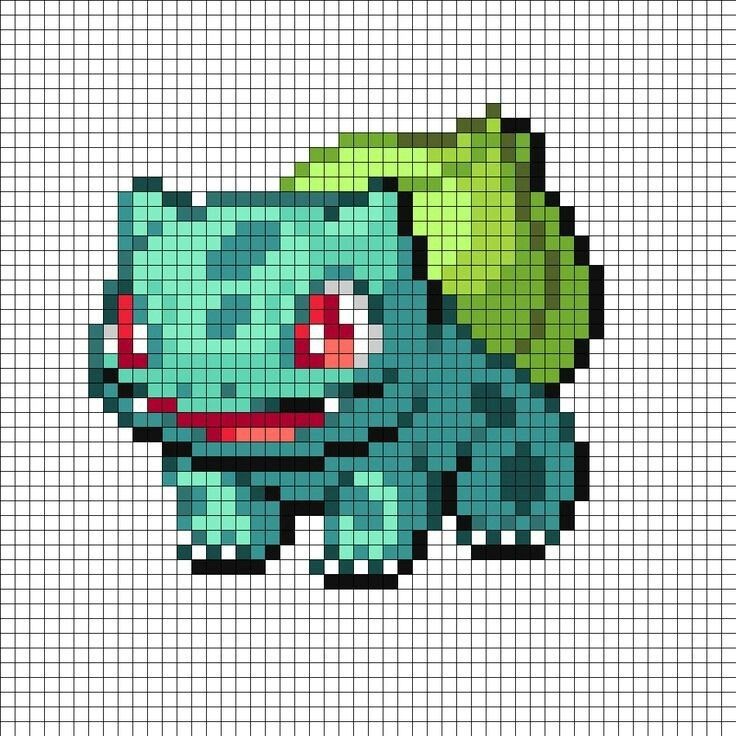 16 best Pixel Pokemon images on Pinterest | Bordado de punto de cruz ...