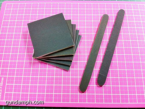 We have here a tutorial on how to create our very own sanding sponges and sanding sticks which functions like their very expensive 3M brandcounterpart. This guide is very useful for us Gundam hobb...