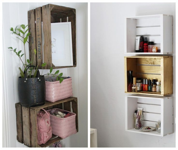 25 best ideas for small bathrooms on pinterest bathroom - Solution rangement petit appartement ...