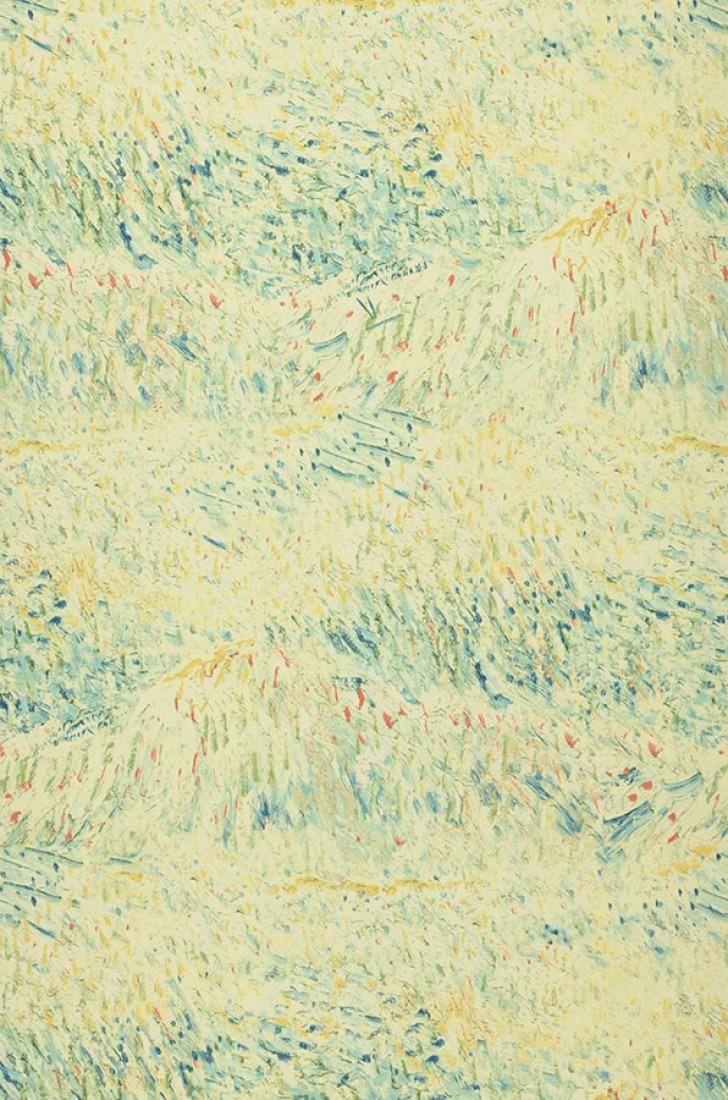 Tapete Vangogh Meadow Tapeten Der 70er Van Gogh Wallpaper Pattern Wallpaper Romantic Wallpaper