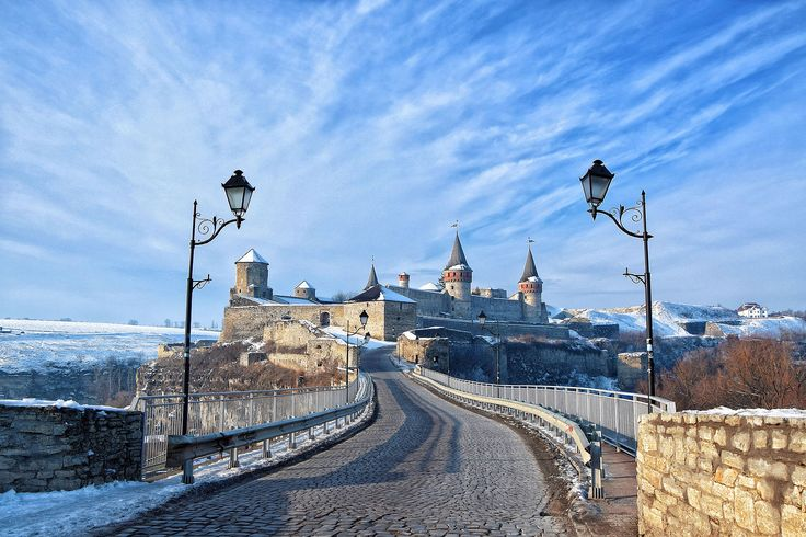 English: Fortress of the Kamianets-Podilskyi city. Author	Haidamac