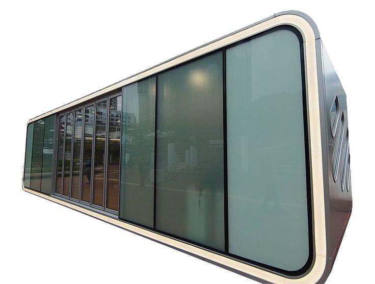 Alpod — компактный, мобильный дом из алюминия