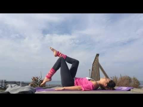 Yoga para Alivio y dolores de Zona Lumbar & ciática - YouTube