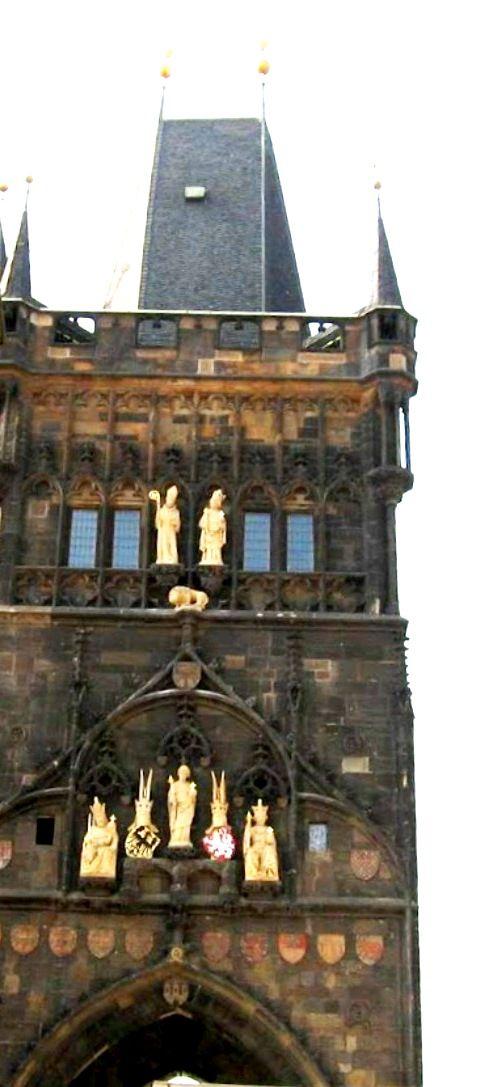 Old Town Bridge Tower - Prague, Czech Republic http://createeverydayblog.blogspot.co.il/2013/08/travel-prague-czech-republic.html