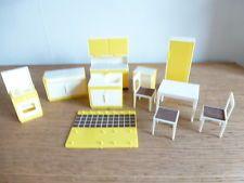 11 Pieces Of Vintage German 1950/60s Dollu0027s House Kitchen Furniture    Plastic | Dollhouse | Pinterest | Dolls, Dollhouse Furniture And Plastic  Doll
