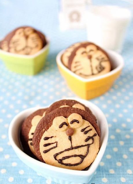 Doraemon biscuits #food #yummy +++For guide + advice on healthy #lifestyle, visit http://www.thatdiary.com/