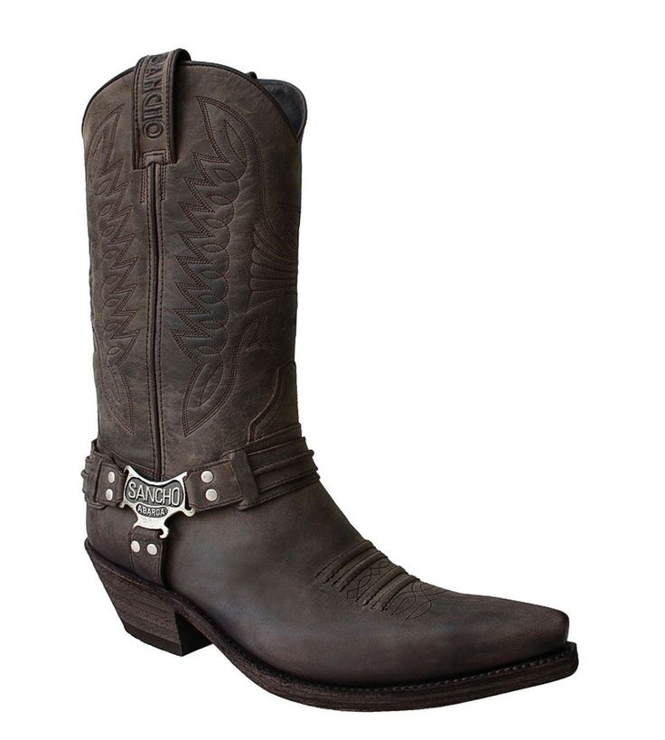 Sancho Abarca Boots Herren Westernstiefel Time Bandit 9931 braun