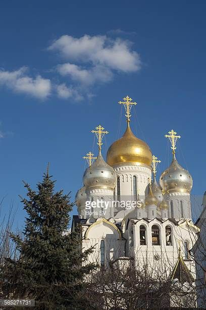 New cathedral of Conception Convent in Moscow