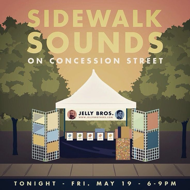We'll be at Sidewalk Sounds on Concession St tonight from 6-9pm #HamOnt