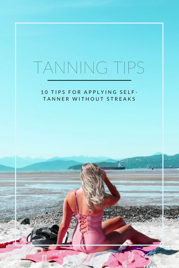 how to remove self tanner from body