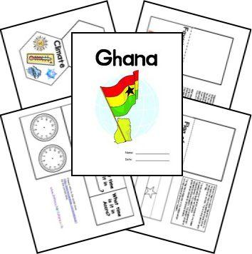Free Ghana Unit Study and Lapbook