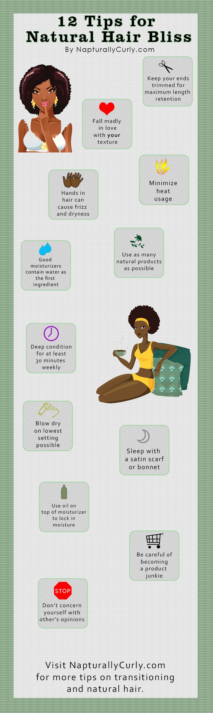 I so needed to see/read this today!! | Curls are a Girl's Best Friend | Pinterest | Bliss, Natural and Infographic