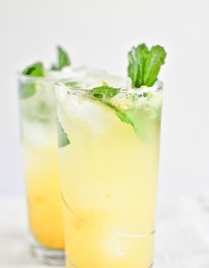 Coconut Mango Mojitos | howsweeteats.com...made at work but with 1800 coconut tequila instead of rum sooo good