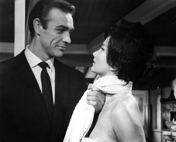 1962.Sean Connery and Zena Marshall.