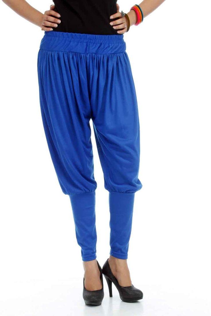Adam n' eve Royal Blue Jodhpuri Cotton Salwar @ Rs.399 only