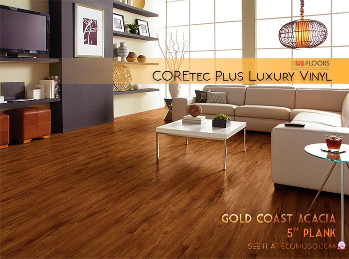 Us Floors Vinyl Coretec Plus Vinyl Plank Is Elegant And