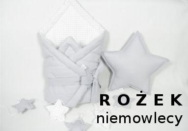 rożek niemowlęcy, rożek, otulacz, rożek pastelowy, pikowany  --> www.betulli.pl