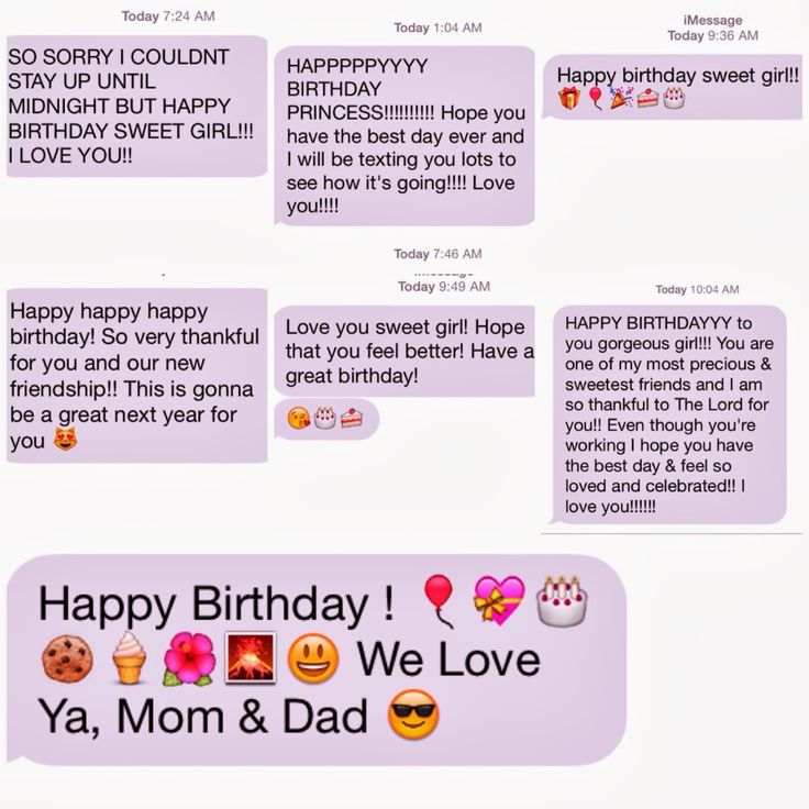 Cute happy birthday text messages to boyfriend