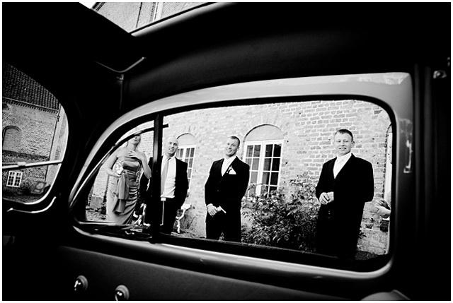 Holckenhavn Slot bryllupsbilleder ved bryllupsfotograf voresstoredag / www.voresstoredag.dk