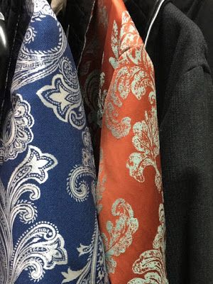 #Paisley and #Baroque luxury #robes for men! | #silk #cotton #dressing #gown #robe #gentleman #style #menswear #victorian #vintage #smoking #jacket