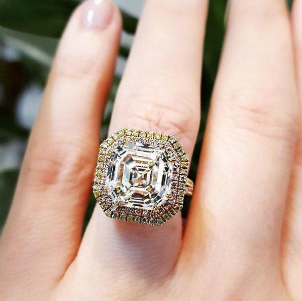 5 Asscher-Cut Engagement Rings Just Like Pippa Middleton's