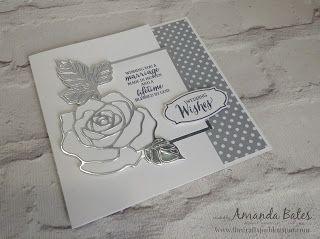 The Craft Spa - Stampin' Up! UK independent demonstrator : Wonderful Wedding Rose Wonder for Wednesday!