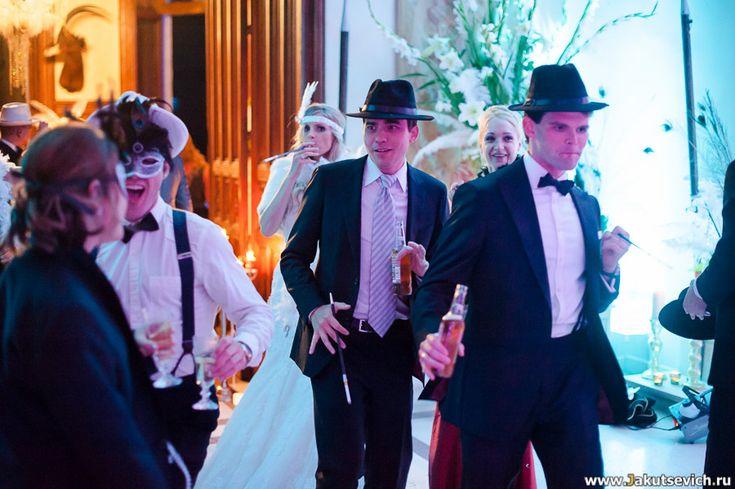 Свадьба в стиле Великий Гэтсби во Франции в замке Chateau Challain фотограф Артур Якуцевич