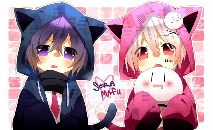 Soraru & Mafumafu <3 #KiRi group キリ