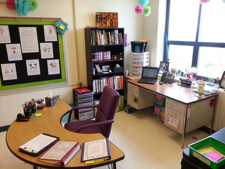 Classroom Decoration Desk Arrangements ~ Best teacher desk organization ideas on pinterest