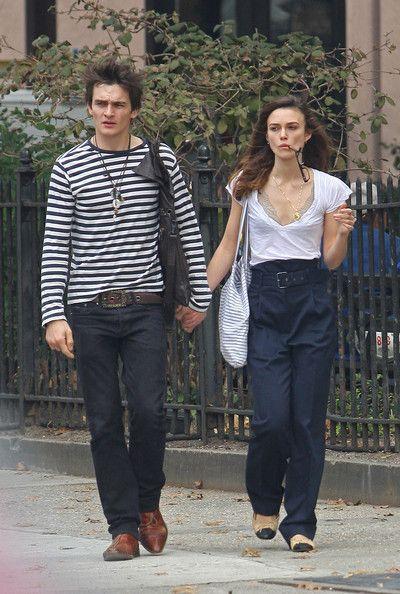 Keira Knightley and Rupert Friend in Manhattan