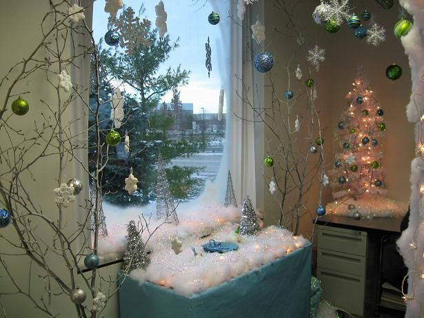 12 best Office Christmas images on Pinterest Christmas ideas - office christmas decorations
