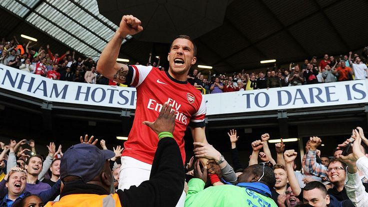 """Berita terbaru dari http://bolamax.com Podolski - postingan link ke cerita, Lukas Podolski menulis: """"Neraka akan membeku sebelum transfer ini akan terjadi. #Poldi #aha #AlwaysAGunner #NeverCheatYourClub #AFC #Redarmy."""".http://bolamax.com/arsenal-lukas-podolski-mengolok-olok-rumor-pindahnya-ke-tottenham-januari/"""