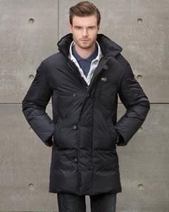 Длинная мужская куртка теплая фото