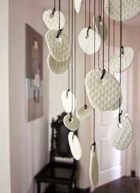 Suspension en porcelaine froide ~ AU 303 HOME DECO                                                                                                                                                      Plus