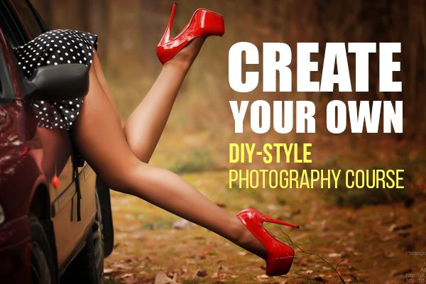 Create your own DIY-style photography course. This is an excellent article and wonderful links to help you on your journey to becoming a masterful photographer.