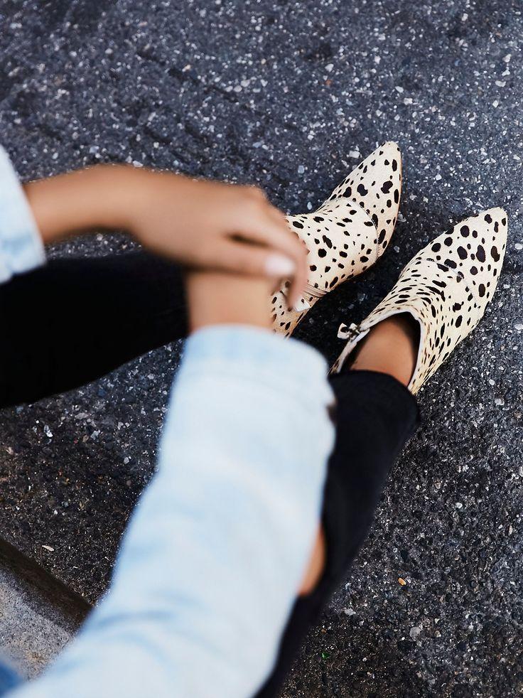 cheetah print ankle boot