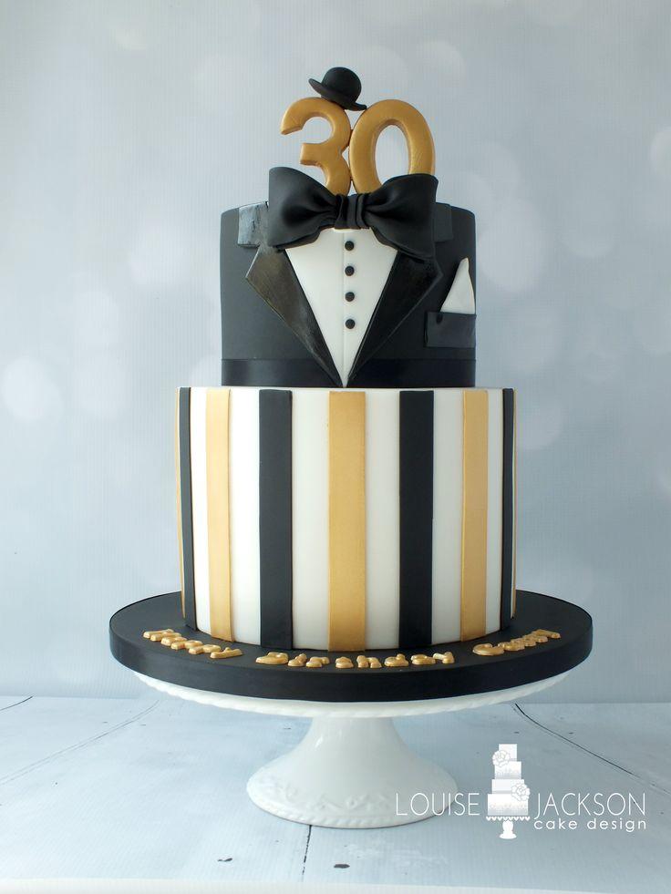 The Great Gatsby inspired 30th birthday cake