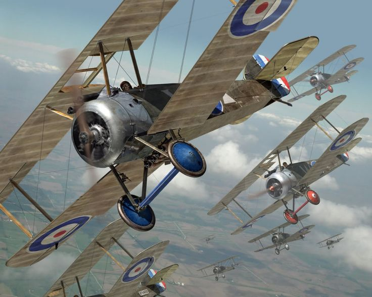 Sopwith Camels by Mark Miller