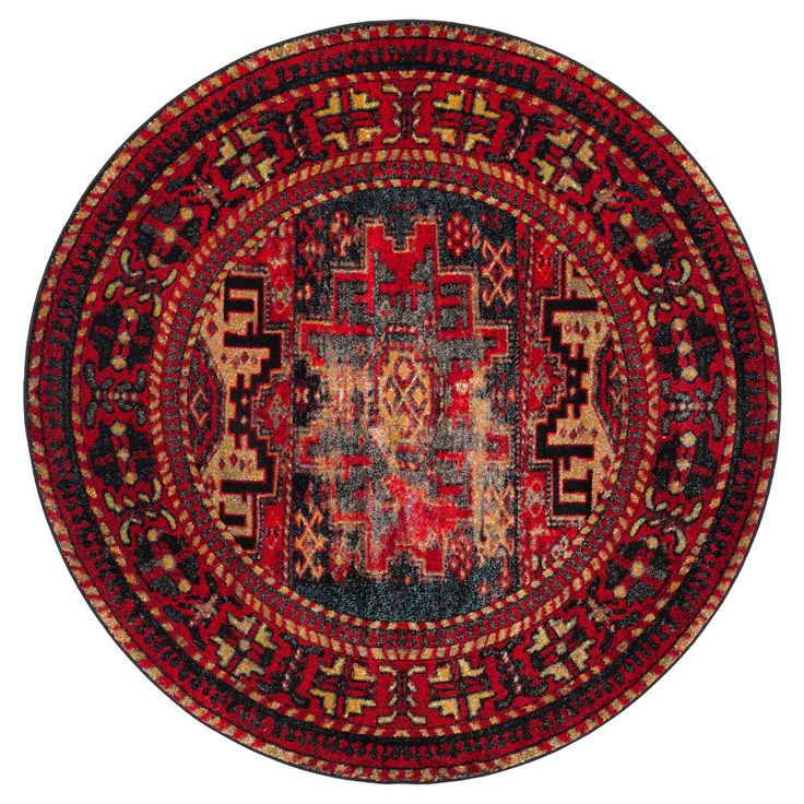 The cultured look of antiquity is beautifully captured in the signature color palette and classic Persian motifs of the Safavieh Vintage Hamadan Rug Collection. The soft, power-loomed pile of Vintage Hamadan rugs brings ancient character to modern decor preferences with deep, rich hues and ageless designs of master rug makers. An exquisite, easy-care carpet.