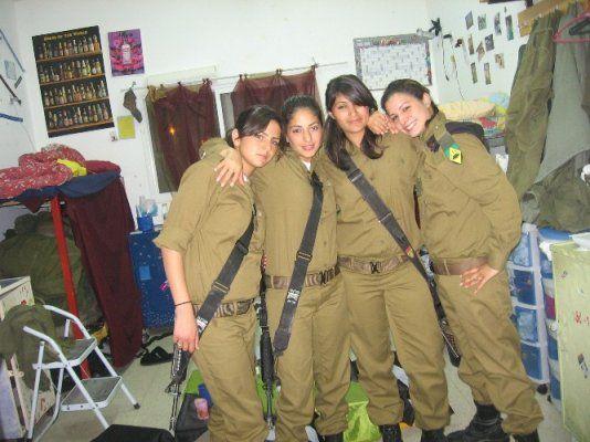 Hot Israeli Female Tank Instructors of School of Infantry Professions-I   . Hot Female Tank Instructors of Israel Defense Forces-II ...