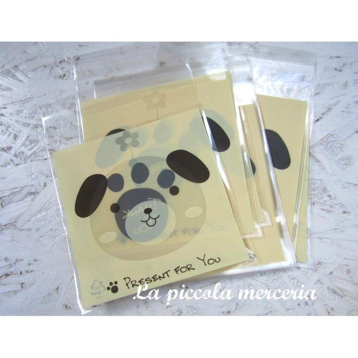 10 sacchetti bustine thank you adesive confezione regalo bigiotteria 13x10 cm