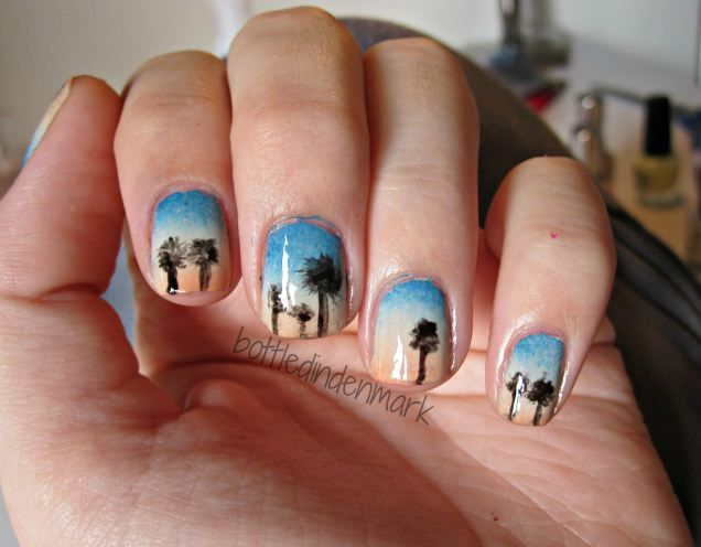 #31DC2015 #day24 Inspired by a book #nails #nailart