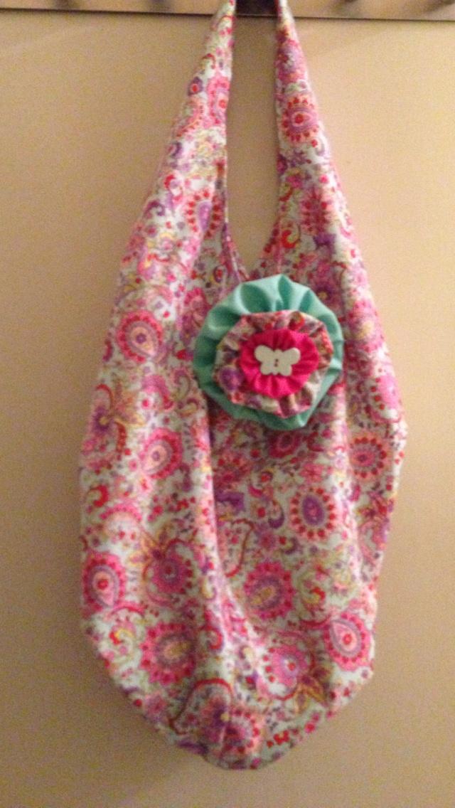 Little girls tote bag
