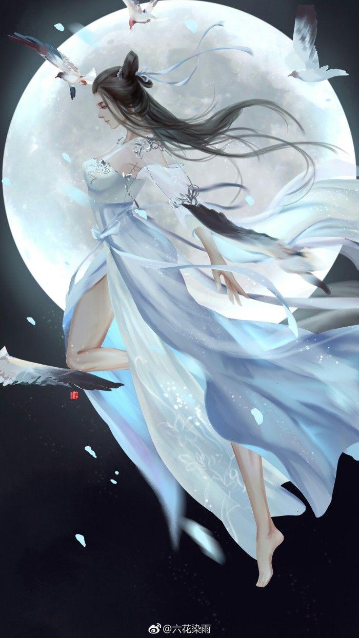 Ode To Longevity Beautiful Fantasy Art Anime Art Girl Chinese Art Girl