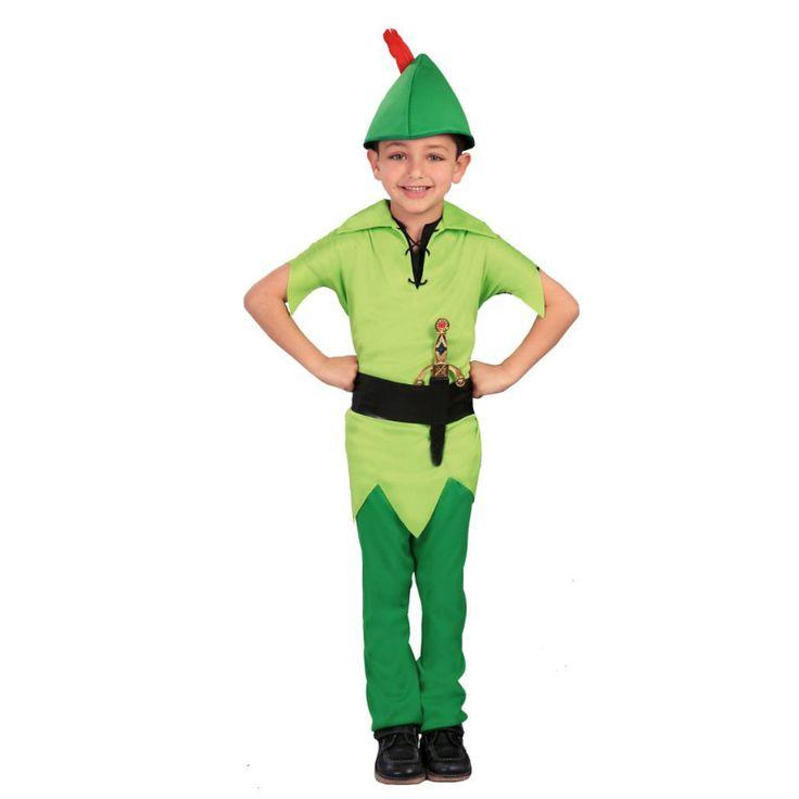 Disfraz de Peter Pan #disfraces #carnaval